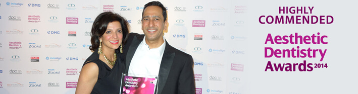 Aesthetic Dentistry awards 2014